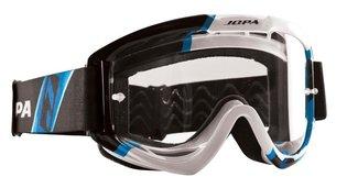 Jopa Crossbril Venom 2 Graphic zwart/wit/blauw