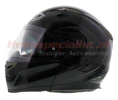 MT Flux systeem helm zwart