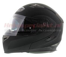 MT Flux systeem helm mat zwart