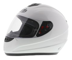MT kinder integraal helm Thunder II wit