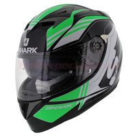 Shark integraalhelm S700-S Pinlock Tyka zwart groen wit