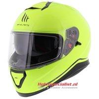 MT Thunder III SV helm fluor geel