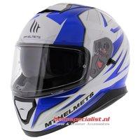 MT Thunder III SV helm Effect blauw