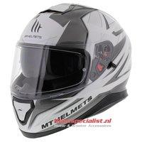MT Thunder III SV helm Effect zilver