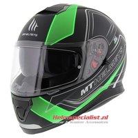 MT Thunder III SV helm Trace Groen