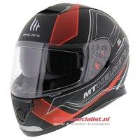 MT Thunder III SV helm Trace Rood