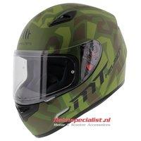 MT Mugello helm Leopard Military Groen