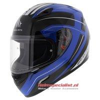 MT Mugello helm Maker Zwart Blauw