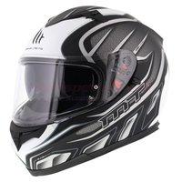 MT Blade Alpha helm zwart grijs