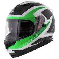 MT Blade Morph Helm Fluor Groen Grijs