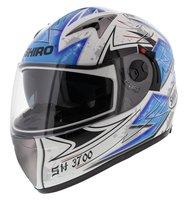 Shiro integraalhelm SH-3700 Monza Wit Blauw