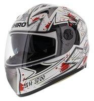 Shiro integraalhelm SH-3700 Monza Wit Rood
