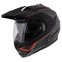 Caberg Tourmax Sonic zwart rood helm