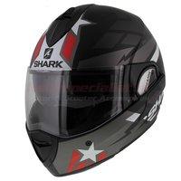 Shark Evoline 3 Strelka Mat Zwart Rood