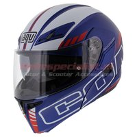 AGV Compact ST Seattle mat blauw wit rood