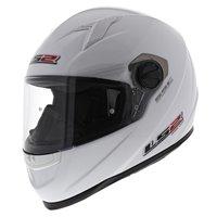 LS2 FF358 Concept Motorhelm glans wit