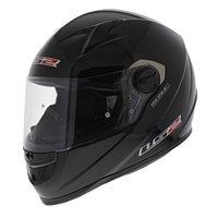 LS2 FF358 Concept Motorhelm glans zwart