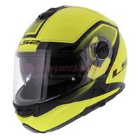 LS2 Systeemhelm FF325 Strobe Civik Hi-Vis Yellow
