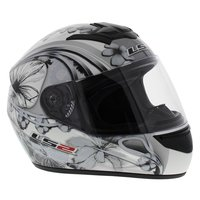 LS2 FF351 Helm Stardust III glans wit zwart