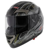 LS2 FF375 helm Assault glans zwart