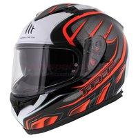 MT Blade Alpha helm zwart oranje
