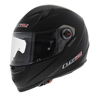 LS2 FF358 Concept Motorhelm mat zwart