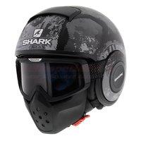 Shark Drak Evok mat zwart antraciet