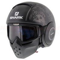 Shark Drak Sanctus Mat Zwart Antraciet
