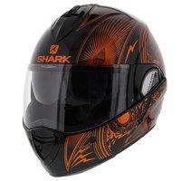 Shark Evoline 3 Mezcal Oranje