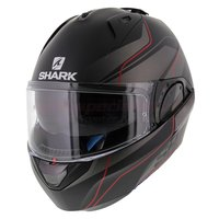 Shark Evo-One 2 Krono mat zwart antraciet rood