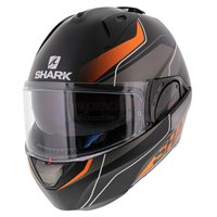 Shark Evo-One 2 Krono mat zwart oranje wit