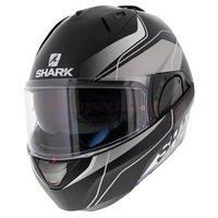 Shark Evo-One 2 Krono mat zwart zilver wit