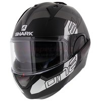 Shark Evo-One 2 Slasher mat zwart antraciet wit