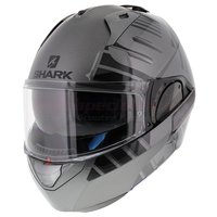 Shark Evo-One 2 Lithion Dual antraciet zwart