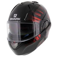 Shark Evo-One 2 Lithion Dual zwart chrome rood