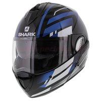 Shark Evoline 3 Corvus zwart wit blauw