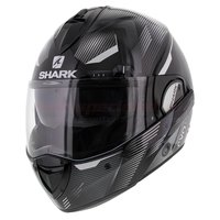Shark Evoline 3 Shazer zwart wit