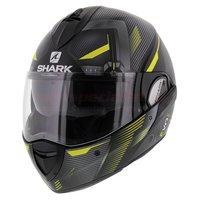 Shark Evoline 3 Shazer mat zwart geel zilver