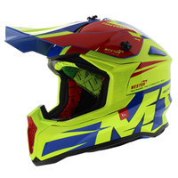 MT Falcon crosshelm Weston fluor geel