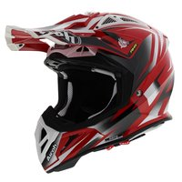 Airoh Aviator 2.3 AMS² Fame Glans Rood