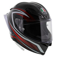 AGV Pista GP R Staccata - Zwart Wit Rood