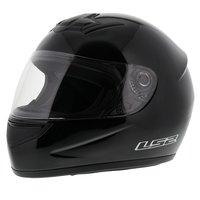 LS2 FF350 Helm Single Mono glans zwart