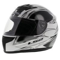 LS2 FF350 Helm Diamond glans wit zwart