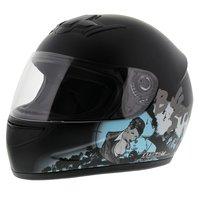 LS2 FF350 Helm Big Stuff mat zwart
