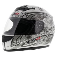 LS2 FF350 Helm Stardust 2 glans wit