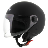 MT Street helm mat zwart