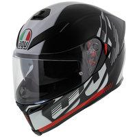 AGV K5-S Darkstorm mat zwart rood GT4
