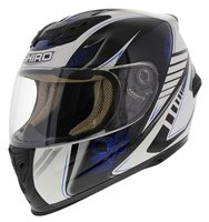 Shiro integraalhelm SH-821 Motion blauw