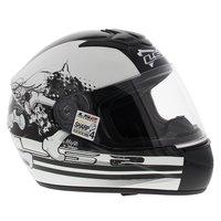 LS2 FF351 Helm Misfits glans wit