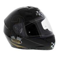 LS2 FF351 Helm Poker glans zwart